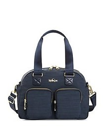 Kipling Defea Handbag NAVY