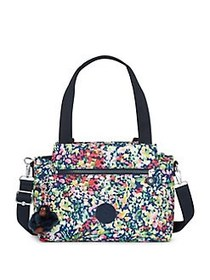 Kipling Elysia Printed Satchel SWEET BOUQUET