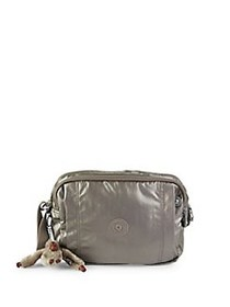 Kipling Benci Metallic Camera Bag METALLIC PEWTER