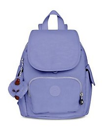Kipling City Pack XS Nylon Backpack BOLD PURPLE