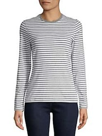 Lord & Taylor Plus Long-Sleeve Essential Striped C