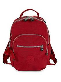 Kipling Seoul GO Small Backpack CHERRY
