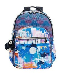 Kipling Seoul Go Laptop Backpack BLUE