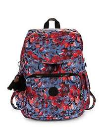 Kipling City Pack Medium Backpack FESTIVE FLORAL