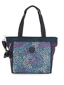 Kipling New Shopper Small Printed Handbag DOT BOUQ