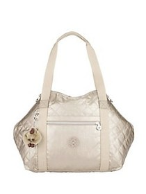 Kipling Small Art Metallic Crossbody Bag TOASTY