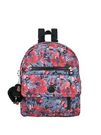 Kipling Carrie Printed Backpack FESTIVE FLORAL