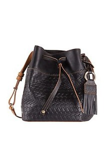 LODIS Rodeo Woven RFID Blake Small Drawstring Bag