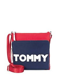 Tommy Hilfiger Tommy Nylon Crossbody Bag NAVY RED