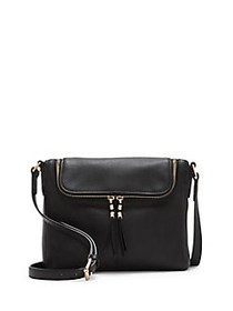 Vince Camuto Tuli Leather Crossbody Bag BLACK