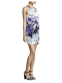 Trina Turk Felisha Halter Print Dress WHITE MULTI