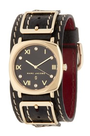 Marc Jacobs Women's Mandy Leather Strap Watch