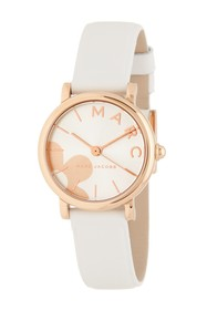 Marc Jacobs Women's Classic Leather Strap Watch