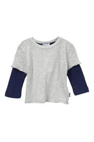 Splendid Washed Baseball Tee (Baby Boys)