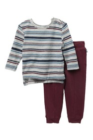 Splendid Striped Top & Pants Set (Baby Boys)