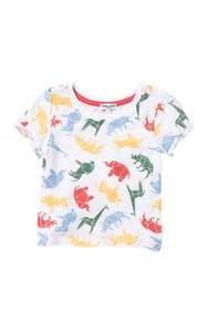 Splendid Washed Slub Tee (Baby Boys)