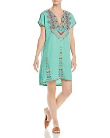 Johnny Was Johnny Was - Velsia Embroidered Tunic D