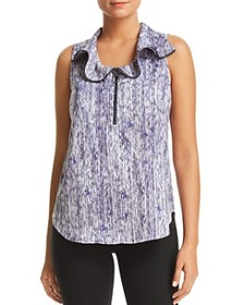 Kenneth Cole Kenneth Cole - Zip Front Blouse