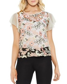 VINCE CAMUTO VINCE CAMUTO - Sheer Sequined Floral