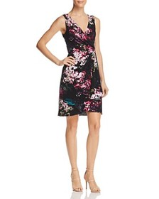 Adrianna Papell Adrianna Papell - Floral Jersey Dr