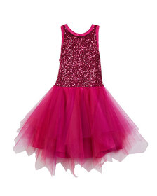 Zoe Marly Sequin & Tulle Party Dress Size 4-6X