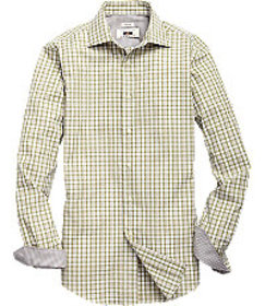 Joseph Abboud Collection Tailored Fit Spread Colla