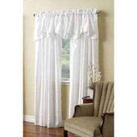 Windham Interlined Faux Silk Curtain Panel
