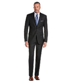 Signature Collection Tailored Fit Check Suit - Big