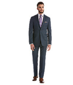 Signature Gold Tailored Fit Suit - Big & Tall CLEA
