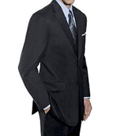 Traveler Collection Tailored Fit 2-Button Suit wit