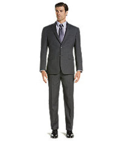 Traveler Collection Tailored Fit Check Suit