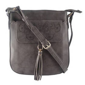 Chateau Cut Out Crossbody with Front Flap Pocket