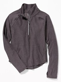 Go-Dry 1/4-Zip Performance Pullover for Girls