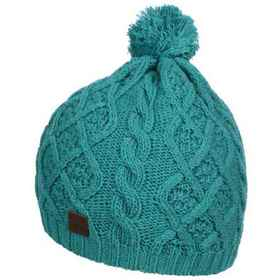 Tilley Cable Toque Hat (For Girls) in Aqua - Close