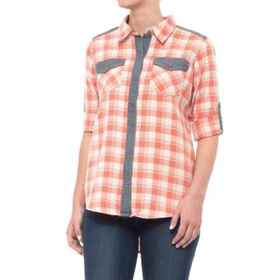 Gramicci Runyon Plaid Boyfriend Shirt (For Women)