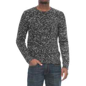 Michael Stars Suede Combo Sweater (For Men) in Gre