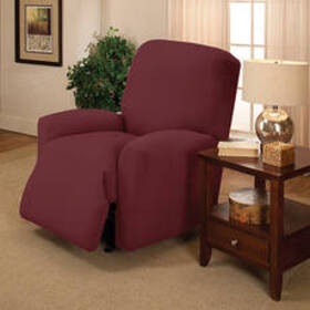 Stretch Jersey Recliner Cover - Ruby