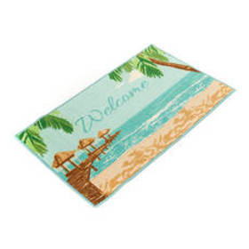 Nourison Beach Welcome Print Accent Rug
