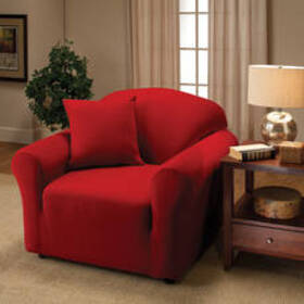 Stretch Jersey Slipcover - Red