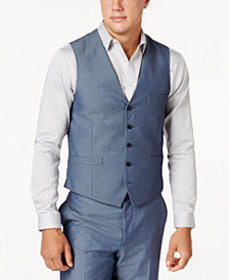 I.N.C. Men's Chambray Suit Vest, Created for Macy'