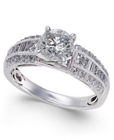Diamond Engagement Ring (1-3/4 ct. t.w.) in 14k Wh