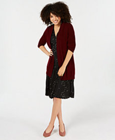 Charter Club Pure Cashmere Duster in Regular & Pet