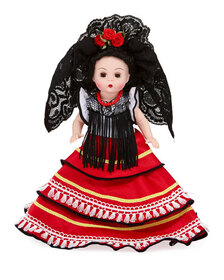Madame Alexander Dolls 8 Spanish Princesa Collecti