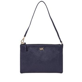 Michael KorsMedium Leather Convertible Pouch- Admi