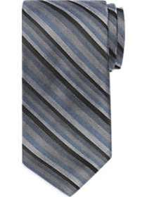 Awearness Kenneth Cole Blue Stripe Extra Long Narr