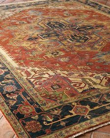 Exquisite Rugs Washed Serapi Rug 6' x 9'