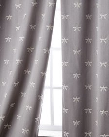 Sweet Dreams Imperial Dragonfly Curtain 96L