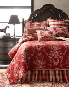 Sherry Kline Home King French Country Comforter Se