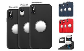 2 in 1 Airbag Case Mirror Case Shockproof Protecti