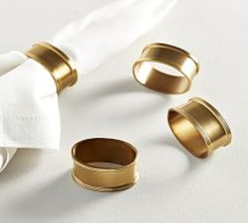 Antique Gold Napkin Ring